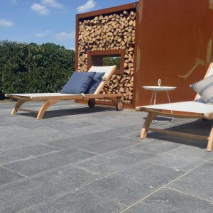 Kilkenny Flamed Limestone Paving