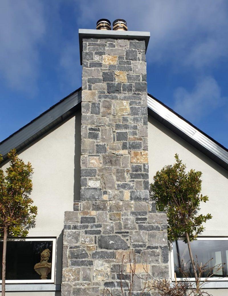 Limestone Chimney Cap and White Limestone Building Stone