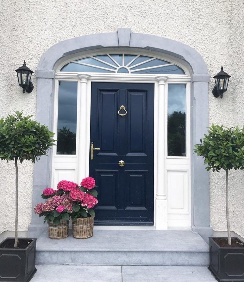 Limestone Door Surround