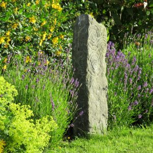 Old Natural Kilkenny Limestone Standing Stone