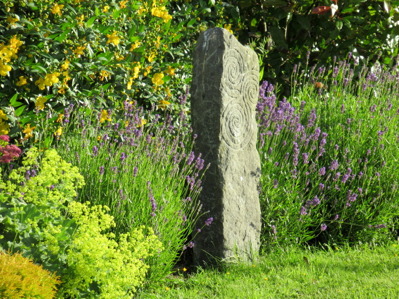 Old Natural Kilkenny Limestone Standing Stone