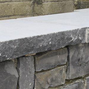Pitched Limestone Capping