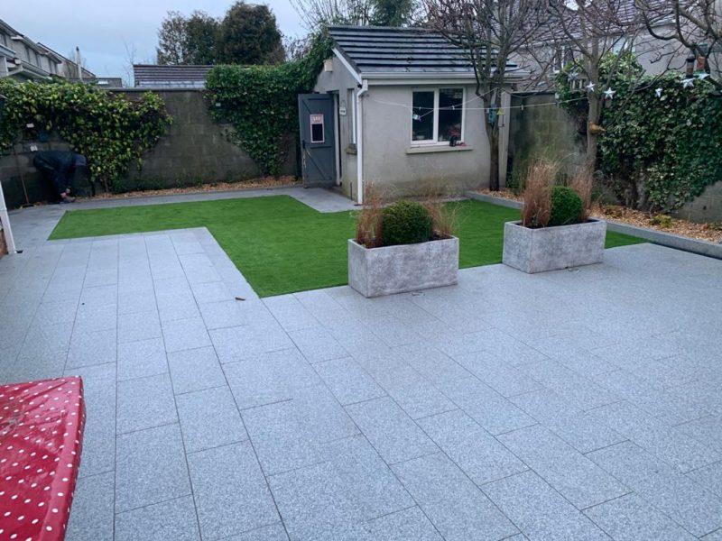 Silver Granite Paving
