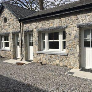 White Limestone Rubble Building Stone and Limestone Lintels