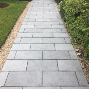 Sanded Kilkenny Limestone Paving