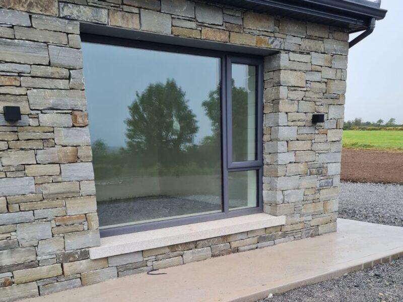 Silver Granite window sills